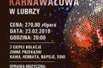 Zabawa Karnawałowa 2019 - plakat