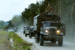 Zlot Pojazdów Militarnych w Boryszynie (fot. arch. UG Lubrza)