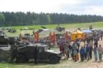 Zlot Pojazdów Militarnych w Boryszynie Zlot Pojazdów Militarnych w Boryszynie (fot. arch. UG Lubrza)