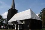 Boryszyn. Zabytkowy kościół drewniany z 1648r. (fot. Piotr Kułak)