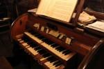 Boryszyn. Zabytkowe organy w kościele (fot. Piotr Kułak)