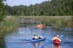 Na trasie spływu kajakowego po Kanale Niesulickim (Ołobok-Lubrza)